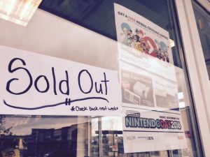 EB Games in South Surrey sold out of the NES Classic.