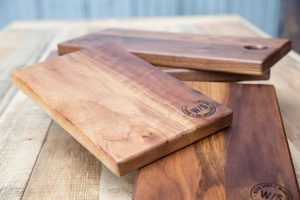 Cutting boards made by Wood Shop (photo courtesy of Wood Shop)