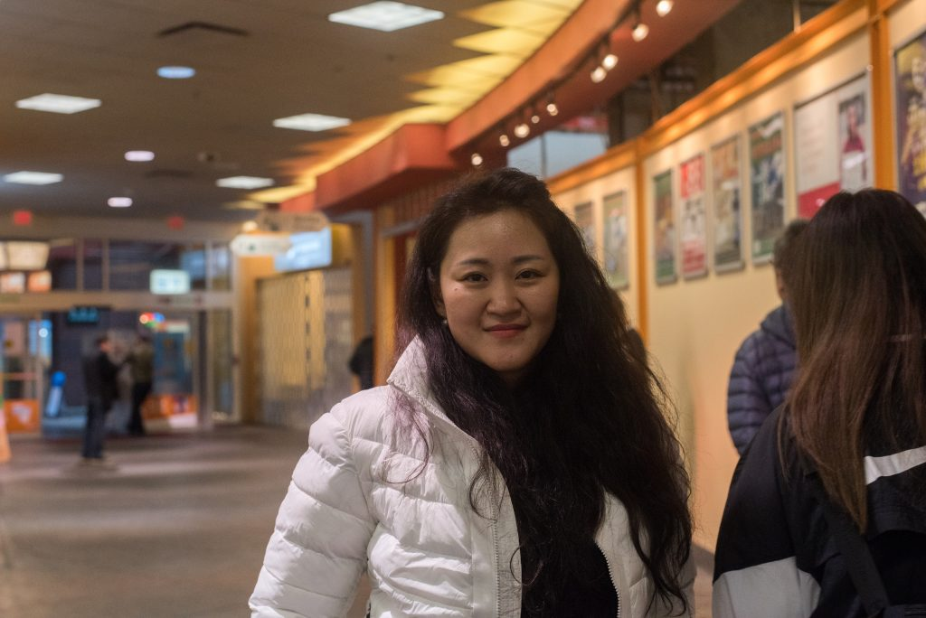 A portrait picture of Fen Liu, a shopper at Burnaby Crystal Mall.
