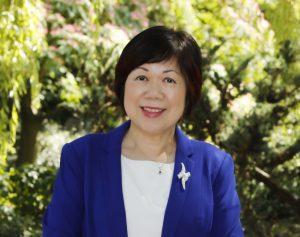 A headshot of Queenie Choo, CEO of SUCCESS.