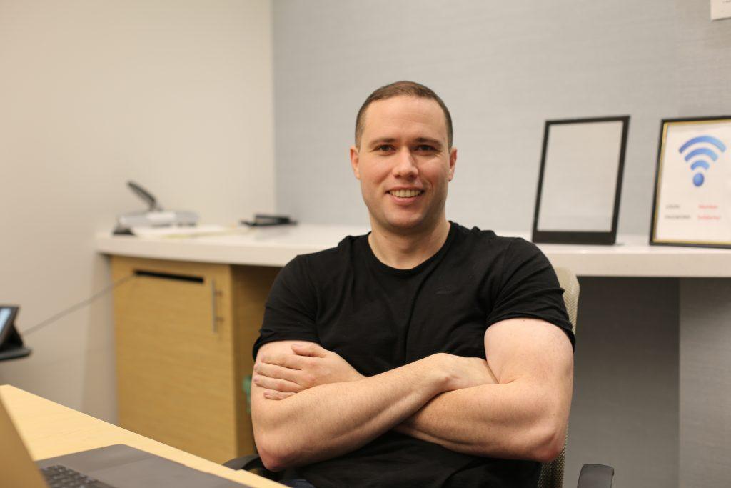 Paul Finch, BCGEU Treasurer