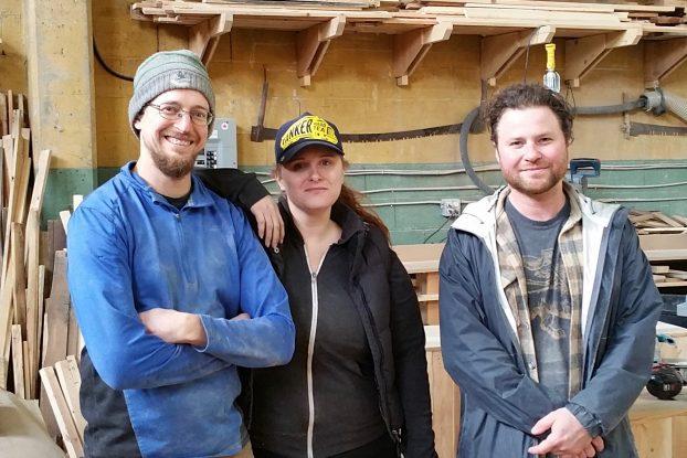 Chris Nichols, Jessica Valentine, and Maxim Piche